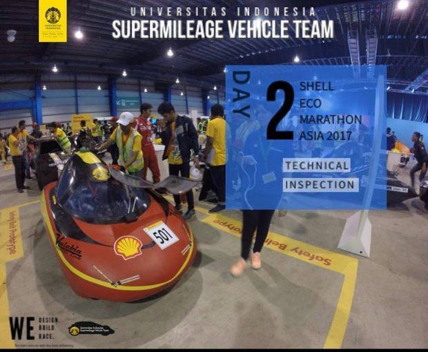 Mobil Hemat BBM 792 Km/Liter Karya Anak Bangsa Ikut Kompetisi Otomotif Shell Eco Marathon Asia