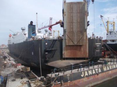 Kerja Praktek di Perusahaan Kapal PT. JMI Semarang