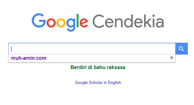 Cara Mudah Membuat Akun Google Scholar Muh Amin Com