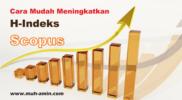 Cara meningkatkan h-indeks Scopus
