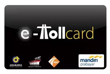 E toll card