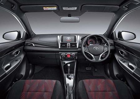 Interior All New Toyota Yaris