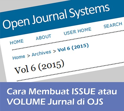 Cara membuat Issue jurnal OJS