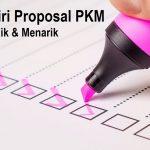 Ciri ciri proposal yang baik dan menarik