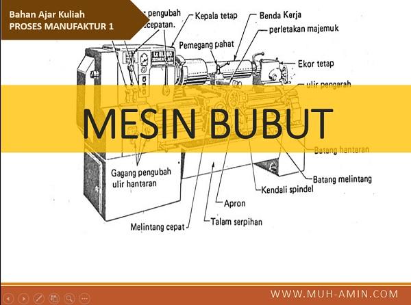 Materi kuliah Mesin Produksi _ Mesin Bubut