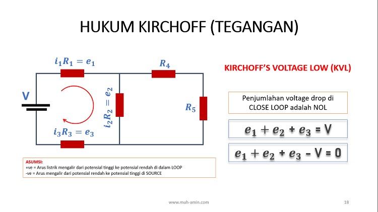 Hukum Kirchoff Tegangan dan Arus
