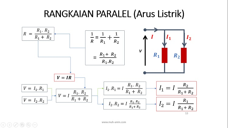 Berapa Arus pada Rangkaian Listrik Paralel