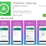Apikasi WhatsApp Auto Response